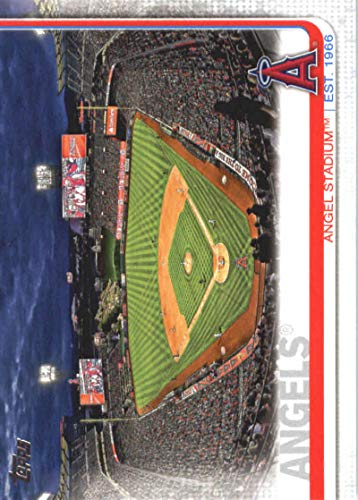 2019 Topps Baseball #26 Angel Stadium Los Angeles Angels