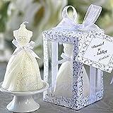 bread griller - PAPE, 10PCS Elegant Boxed Bridal Bride Shape Candle Wedding Party Favors Decor Pure White, wholesale