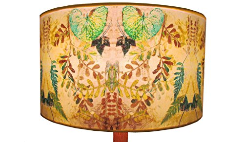 'Hedgerow' Drum 45cm cotton poplin lampshade by Annabel Hill Design