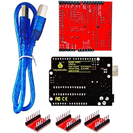 Buy Generic CNC Kit/CNC Shield V4 0 + Nano 3 0+ A4988 Driver