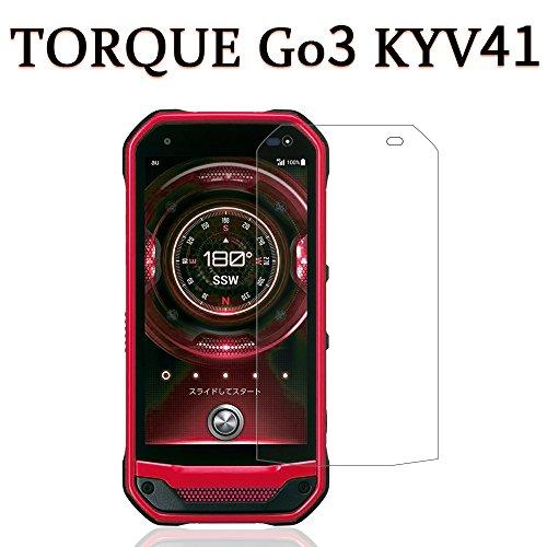 TORQUE G03 KYV41 フィルム,Hitcrunch 国産旭硝子 2.5D 高透過率 au torque g03 液晶保護フィルム トルク G03 フィルム 自動吸着 気泡防止 硬度9H 飛散防止 ケースに干渉せずの商品画像