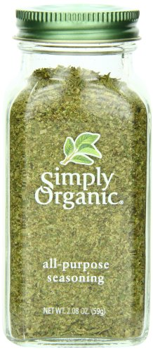 Simply Organic All-Purpose Seasoning, Certified Organic, 2.08 Ounce