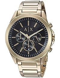 Armani Exchange AX2611 Men's Watch, Dress Gold