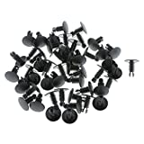 MagiDeal Durable Car Vehicle Trim Fasteners Clips Fit for Fiat 5757139 Pack of 50
