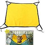 Fashion Puppy Dogs Cats Pet Hammock Kitten Sleep Bed With Polar Fleece Material^Yellow.