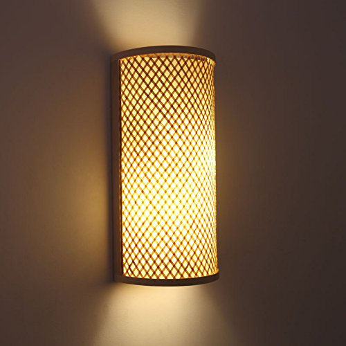 Leihongthebox Wall Sconce Industrial Edison retro style Wall lamp Chinese Wall Sconce Lamps Bamboo lamp 4021cm (Oil Rubbed Bronze)
