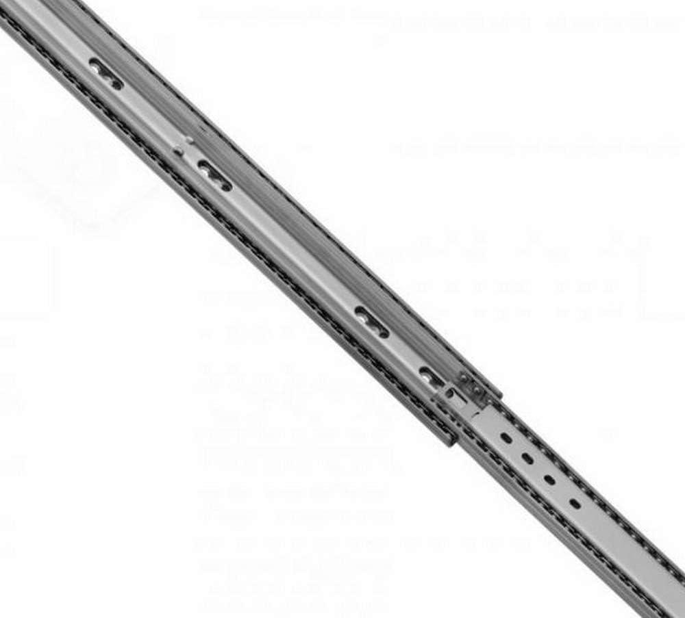 2 unidades 400 1 par 53 mm de alto. con bloqueo extensi/ón completa 136 kg de capacidad de carga 1000 mm de longitud de extractos de carga pesada