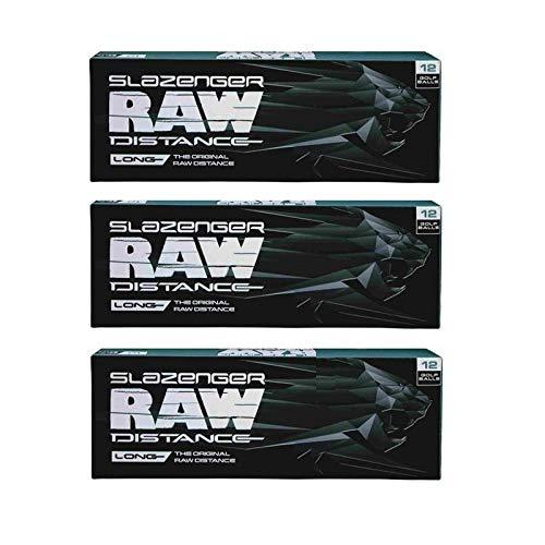 Slazenger Raw Distance Golf Balls - Slazenger Raw Distance Golf Balls - Max Performance - Aerodynamic - Long Drive - Control - 36 Total Balls