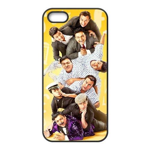 Humshakals coque iPhone 5 5S cellulaire cas coque de téléphone cas téléphone cellulaire noir couvercle EOKXLLNCD24493
