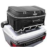 T-Bags Bootcase Bag for Harley Davidson Tour Pak King/Chopped - King