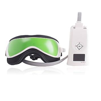 YUNFEILIU Masajeador De Ojos - Masaje Eléctrico De Máscara De Ojos - con Compresión De Aire