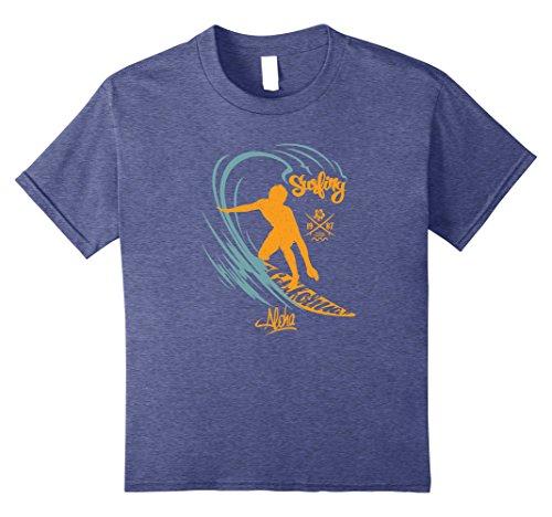 Cool Surfing Aloha Summer Design T shirt