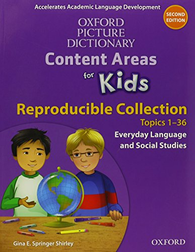 Oxford Picture Dictionary Content Area for Kids Reproducible Collection Pack (Oxford Picture Dictionary Content Areas for Kids)