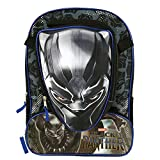 Marvel Black Panther 16 inch Backpack with Molded Lunch Box