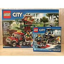 Lego City Hovercraft Arrest & LEGO City Prison Island Starter Set