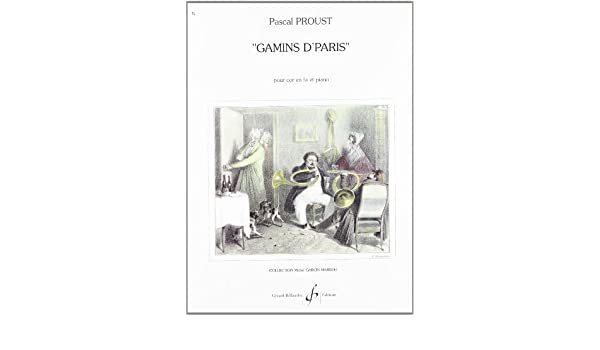 Gamins dParis (ENSEMBLE DE PERCUSSIONS): Amazon.es: Proust Pascal ...