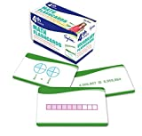 4th Grade Math Flashcards: 240 Flashcards for Improving Math Skills Based on Sylvan s Proven Techniques for Success (Sylvan Math Flashcards)