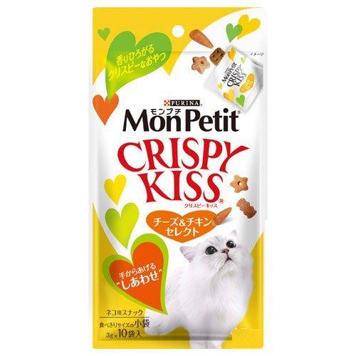 Purina MonPetit Crispy Kiss Cheese&Chicken select 30 g×30