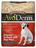 AvoDerm Natural Oven-Baked Original Formula with Beef Meal Dog Food, 15-Pound, My Pet Supplies