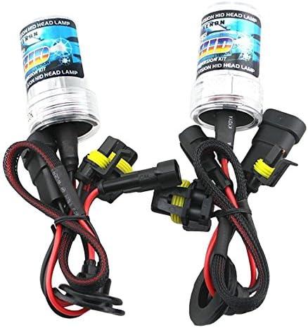 Set of 2 Zone Tech H7-6K Xenon Replacement Headlight Bulb HID 6000K H7