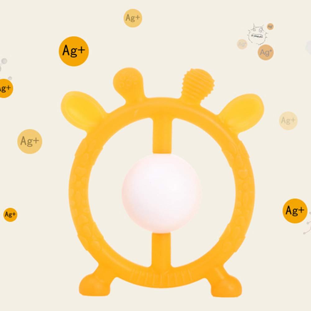 Deanyi - Pulsera de silicona para bebé, no tóxica, sin BPA, para ...
