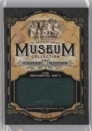 Roaring 20s Collection (1920s Women's Bathing Suit (Trading Card) 2015 Upper Deck Goodwin Champions - Museum Collection Relics: Roaring 20s #MC20-BS)
