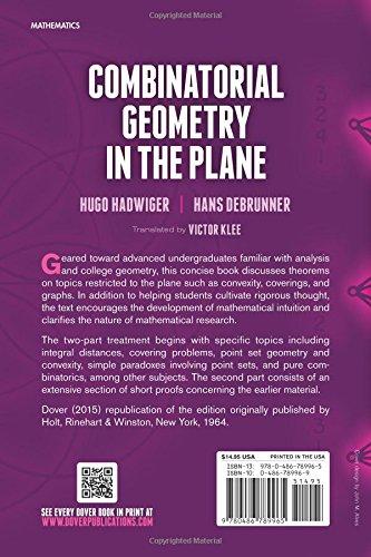 Combinatorial Geometry in the Plane (Dover Books on Mathematics ...