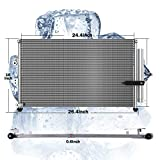 A/C Condenser with Dryer Compatible with