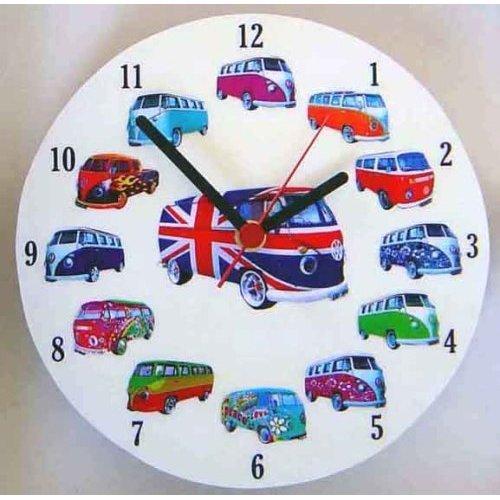 Volkswagen - Set de regalo - Reloj, tablón de notas, imán ...