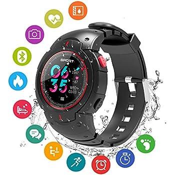 Amazon.com: Smart Watch Fitness Tracker Waterproof Outdoor ...