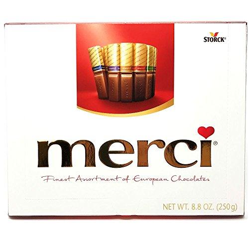 Merci Rich European Chocolates (Assorted, 8.8 Ounce)