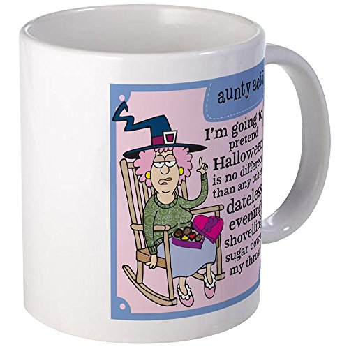 CafePress Aunty Acid: Dateless Halloween Mug Unique Coffee Mug, Coffee Cup
