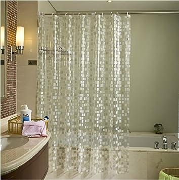 Superior Eforgift Eco Friendly 14 Gauge PVC Shower Curtains Mildew Resistant  Waterproof ,Bathroom Curtain Liner