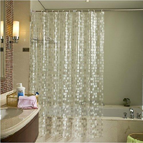 Eforgift eco friendly 14 gauge pvc shower curtains mildew - Pvc shower curtain ...