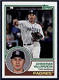 2018 Topps 1983 Topps Rookies #83-23 Christian Villanueva Padres Baseball
