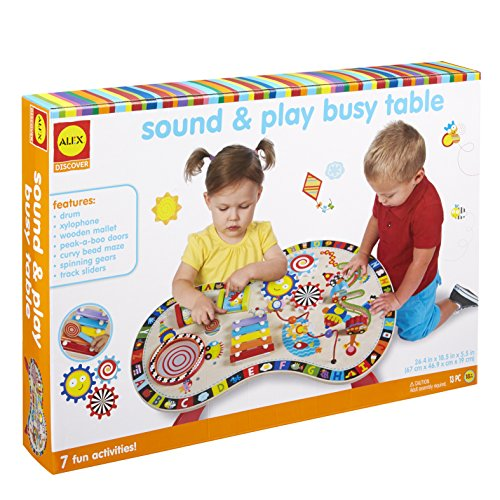 - Alex Discover Sound and Play Busy Table