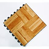 DanceDeck 100766_10x10 Standard Light Wood Package Tile, 10 x 10 ft.