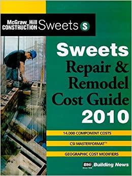 Book Sweets Repair and Remodel Cost Guide