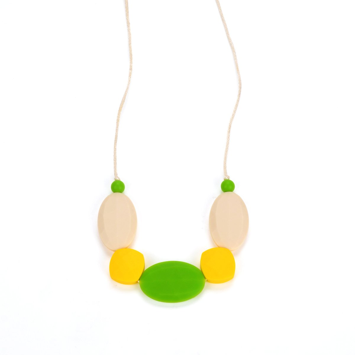 BEBE by Me Appletini Silicone Teething Necklace for Nursing Moms