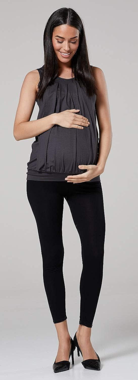 HAPPY MAMA Donna Maglietta a Strato Top pr/émaman T-Shirt LAllattamento 096p