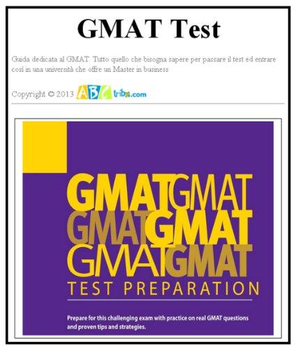 GMAT. Guida al Test (Italian Edition) Pdf