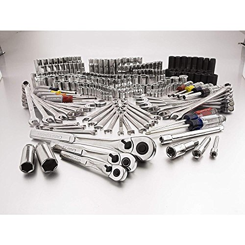 Craftsman 207 Pc. Easy-to-read Mechanics Tool Set with Im...