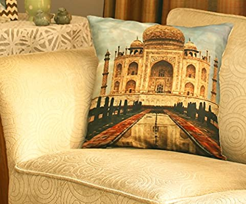 SouvNear Taj Mahal (amor) - impresión cojín decorativo cubre ...