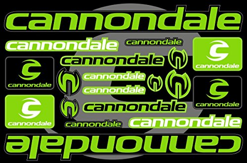 Cannondale Decals Stickers Bicycle Frame Replacement Graphic Set #3 ()