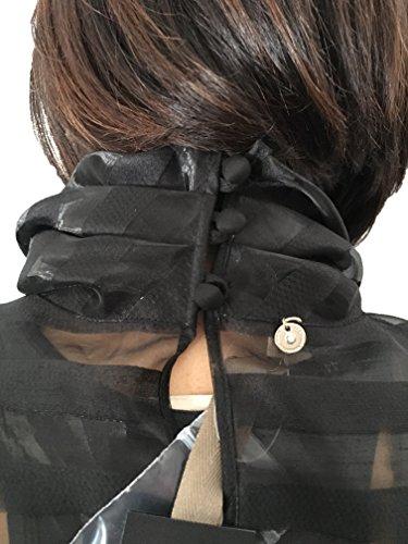 Donna Grazia 100 Panizzi Nera Maria Italy In Made Poliestere Camicia 4qadw