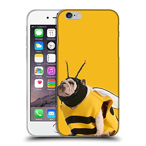 """GoGoMobile Coque de Protection TPU Silicone Case pour // Q05650602 Abeille bouledogue Ambra // Apple iPhone 6 PLUS 5.5"""""""