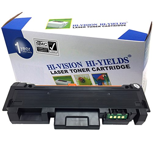 HI-VISION Compatible Black Toner Cartridge Replacement for Samsung MLT-D118L works with Xpress M0365FW, M3015DW