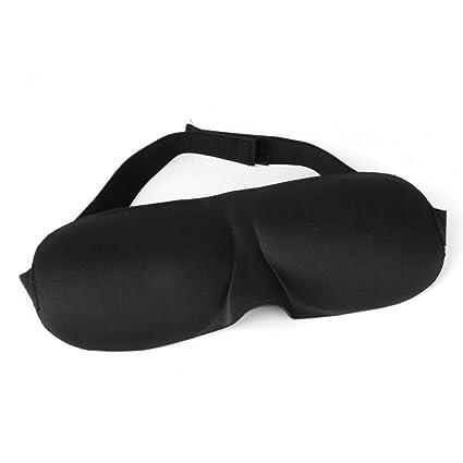 f9dbfaa80 TOOGOO(R) Black Sleep Mask sleeping Eye Shades Eye Blinders--Encourages A  Restful Sleep and Leaves You and Your Eyes Feeling Refreshed and  Stress-Free  ...