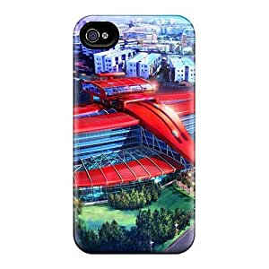 Shockproof Hard Cell-phone Cases For Iphone 4/4s (vHW16418EHeE) Allow Personal Design Nice Disney Movie 2015 Series