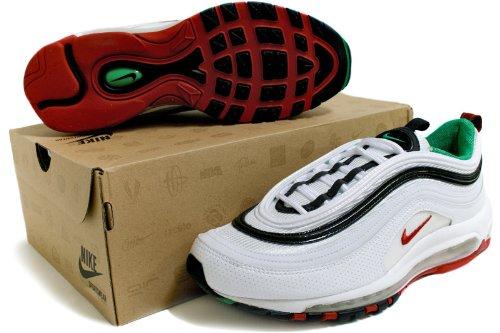 Nike Herren Magistax Onda II IC Fußballschuhe Schwarz (Schwarz/Weiß-Universität Rot 061)